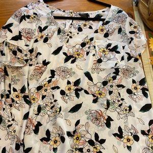 Torrid Abbey Floral Blouse